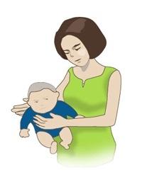 아기 트림 시키는 법 1번