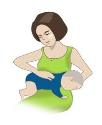 아기 트림 시키는 법 3번